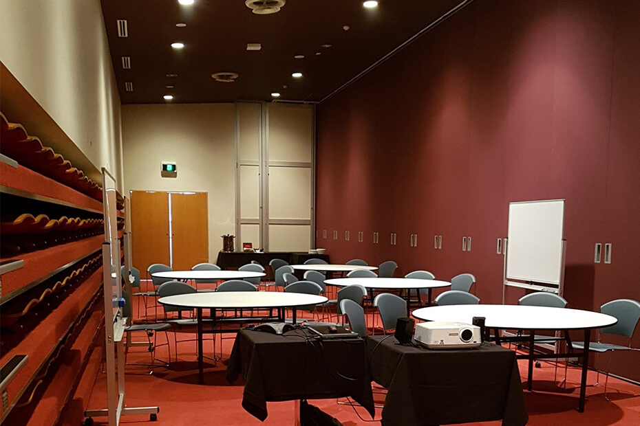 Setting up a meeting room
